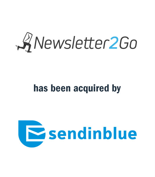 Newsletter2Go has been acquired by SendinBlue